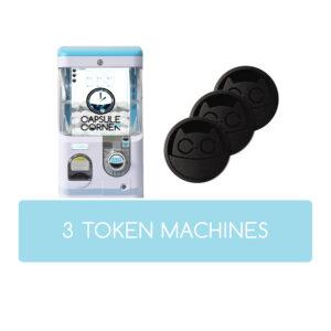 3 TOKEN Machines